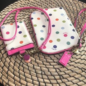 ID holder with wristlet